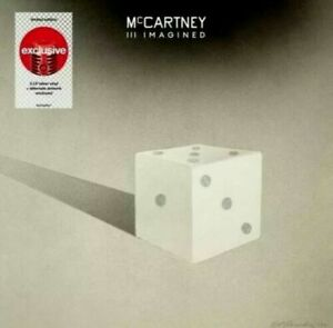 Paul McCARTNEY III IMAGINED~Limited Ed TARGET Exclusive SILVER 2LP~Pre Order