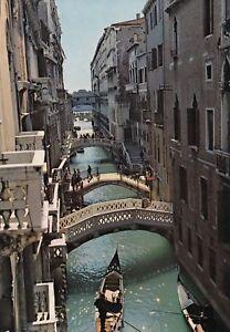 Alte-Postkarte-Venezia-Rio-della-Canonica
