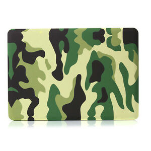 huge selection of 39563 dcb87 Details about Bocov Camo Woodland Camouflag Hard Cover Case For Macbook Pro  13-inch A1278