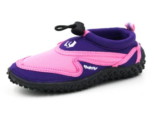 Aqua Beach Shoes Swarm Infant Sizes UK 5 Childs Toggle Wetsuit UK 12