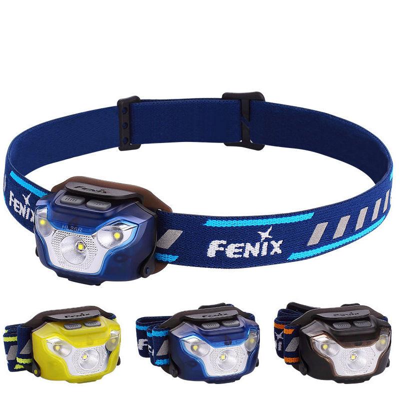 Fenix HL26R Headlamp USB Rechargeable CREE LED 450LM Trail Running Light 1600mAh