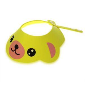 5X-Baby-Kid-Toddler-Bath-Shower-Cap-Hat-Wash-Hair-Shampoo-Shield-Adjustable-L9V6