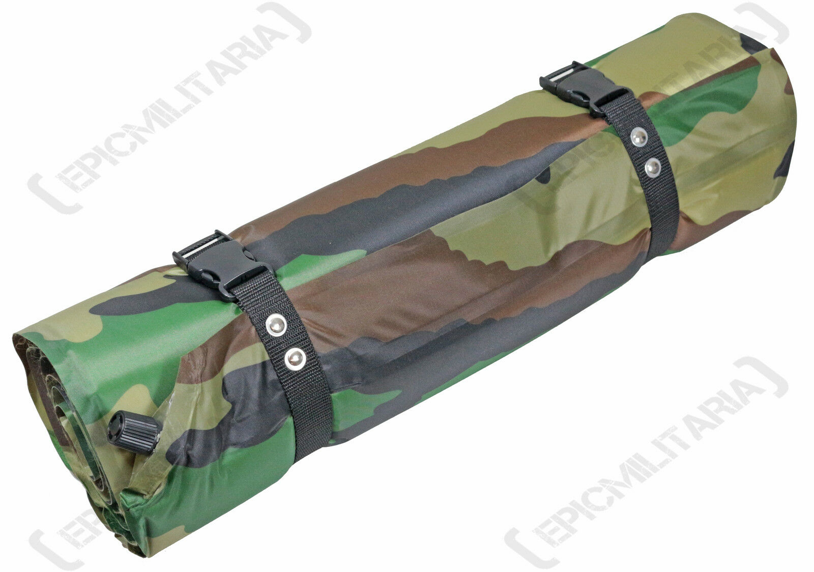 Thermal self inflating roll mat-camo forest-lightweight  camping  most preferential