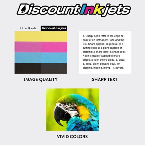 5Pk Black Color Toner Cartridge Set for HP LaserJet Printer 2550 2820 2830 2840