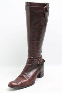 Carmens Stiefel braun Leder Gr. 36 (UK 3)