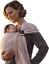 Extra-Soft Bamboo and Linen Fabric Nalakai Luxury Ring Sling Baby Carrier