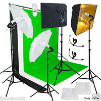Photography Studio Lighting Video Lighting Backdrop Stand Background Kit Linco