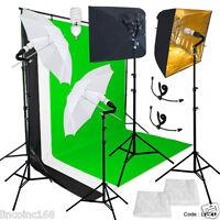 Photography Studio Lighting Video Lighting Backdrop Stand Background Kit Linco