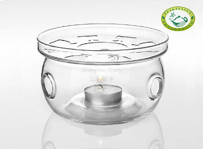 Big Glass Candle Warmer Base for Teapot Heat Resistant US STOCK Fast Shipping