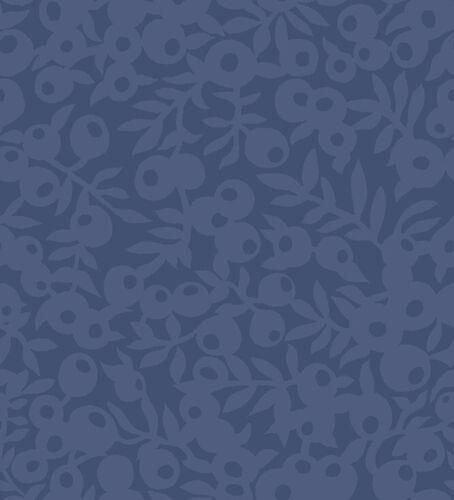 04775657X Liberty-Hesketh House-Wiltshire Sombra Azul 100/% Tela De Algodón