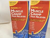 Magnilife Muscle Cramp Relief Tablets ( Two Pack Bundle= 250 Tablets) Item