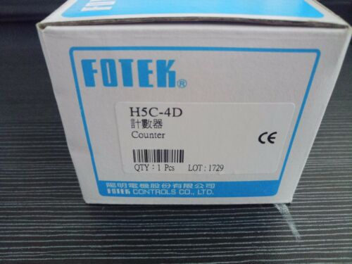 1Pcs H5c-4D Brand New Fotek Counter