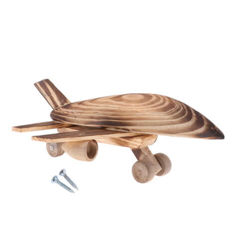 Wood Airplane Model Plane Air Transport Toy for Kids Toddlers Boys Child