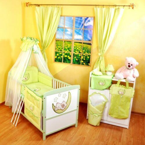 Kinderbett Juniorbett 140x70 inkl.komplette Bettwäsche-Set nr 9 Weiß+Grau