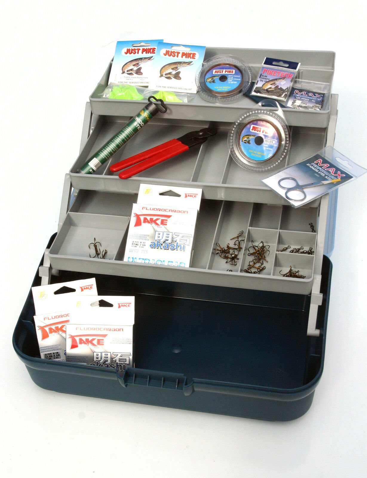 Predator anglers Trace making kit -Everything needed to make pike predator rigs