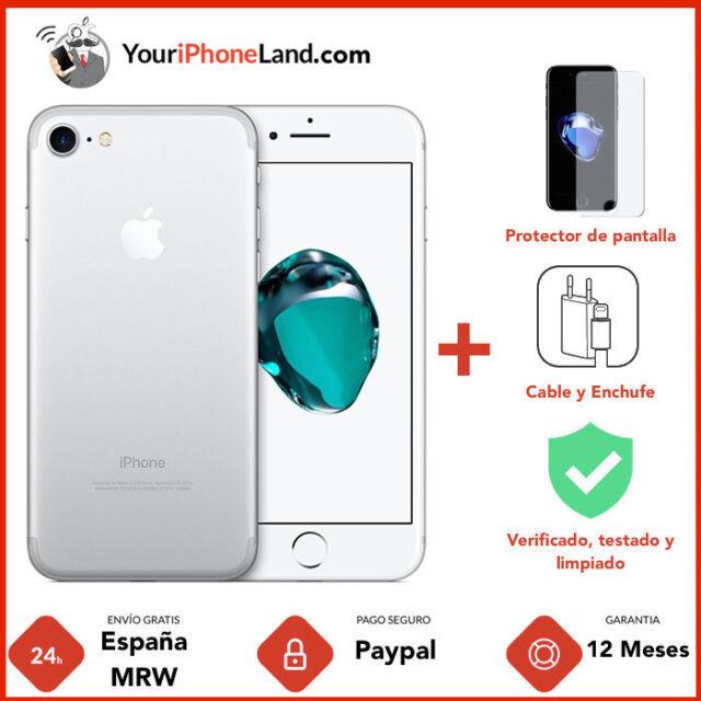  APPLE IPHONE 7 256GB PLATA 1 AÑO DE GARANTÍA GRADO B 