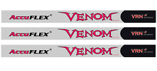 NEW AccuFLEX VENOM COBRA  60 GRAM NANO GOLF WOOD SHAFTS .335 -FLEX A,R,S,X or 2X
