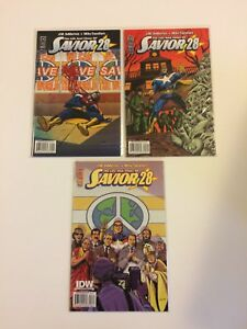 Lot-of-3-The-Life-And-Times-Of-Savior-28-1-2-3-IDW-Comics-2009-VF-NM