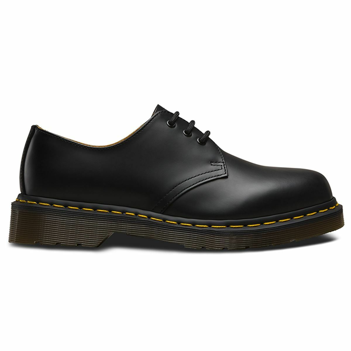 Dr.Martens 1461 3 Eyelet Smooth schwarz Mens Schuhes