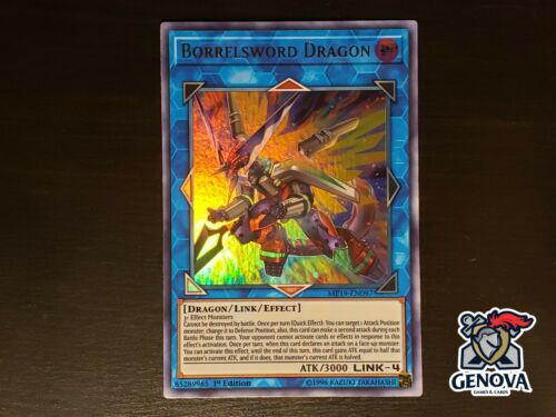 YuGiOh! Borrelsword Dragon MP19-EN097 Ultra Rare 1st Edition NM