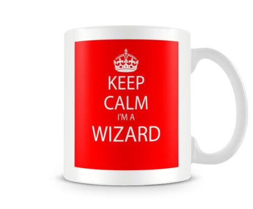 humoristique cadeau drôle personnalisé personnalisé mug KC/_020 keep calm je suis un assistant rouge