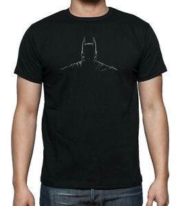 2b0106ee05574 Image is loading DC-BATMAN-Dark-Knight-Shadow-T-shirt