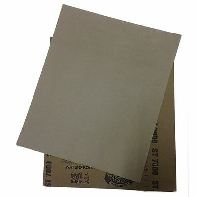 "5 sheets Sandpaper 3000 Grit Waterproof Paper 9/""x11/"" Wet//Dry Silicon Carbide GBM"