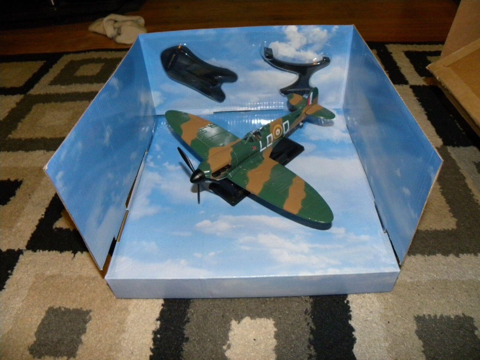 Fairfield Comme neuf, Spitfire Mk. V (vert), Die Cast Modèle Avion, nouveau dans la boîte