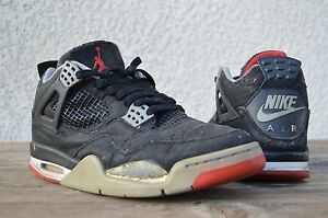 reputable site aa42e d4c12 Image is loading 1999-Nike-Air-Jordan-Retro-4-IV-Bred-