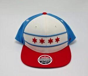 Image is loading Zephyr-Hats-U-S-Patriotic-Hat-Cap-Chicago-NEW 7fec31ba62af