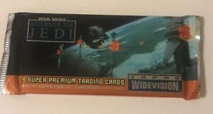 STAR-WARS-1995-TOPPS-RETURN-OF-THE-JEDI-WIDEVISION-9-PREMIUM-TRADING-CARDS-034-NEW-034