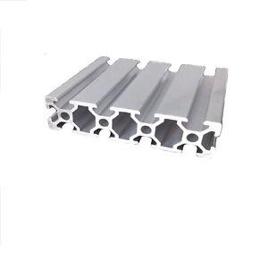 Aluminum T-slot extruded framing profile 20x80 Metric Series Length Choose
