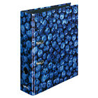 Herlitz 11080660 Folder With Blueberries Motif A4 8 Cm