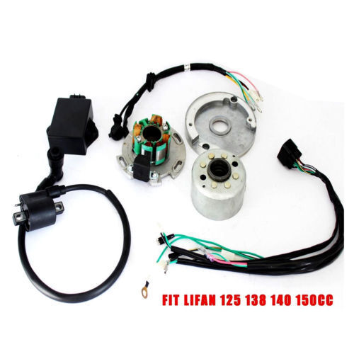 Performance Racing Magneto Stator Rotor Kit Dirt Bike LF Lifan 140 150cc CDI