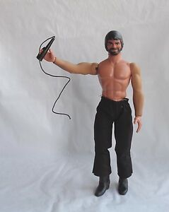 """Vintage Big Jim's P.A.C.K. """" The Whip """" figure loose year 1975"""