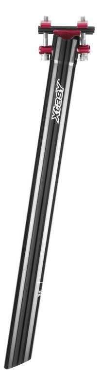 Aluminium Tige de Selle de Brevet Xtasy Superlight 27,2 30,9 31,6 mm black 400 Mm