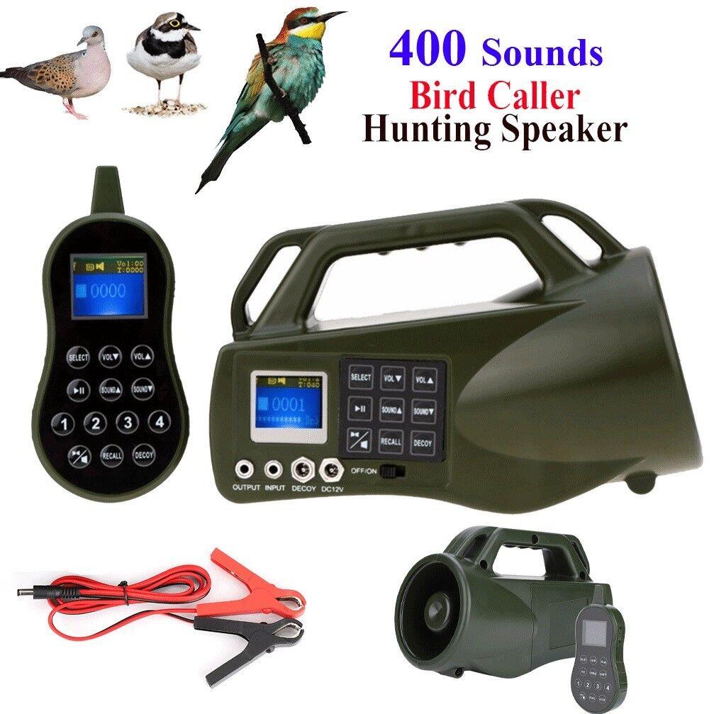Al aire libre caza Señuelo Llamador ELECTRÓNICO llamada deprojoador Juego Pájaro Sound MP3