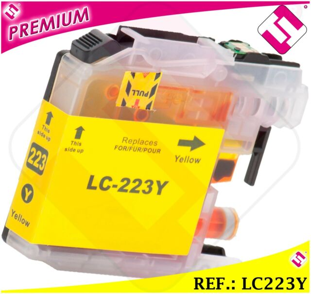 Ink LC221 LC223Y XL Yellow Compatible Printer Cartridge Yellow Nonoem