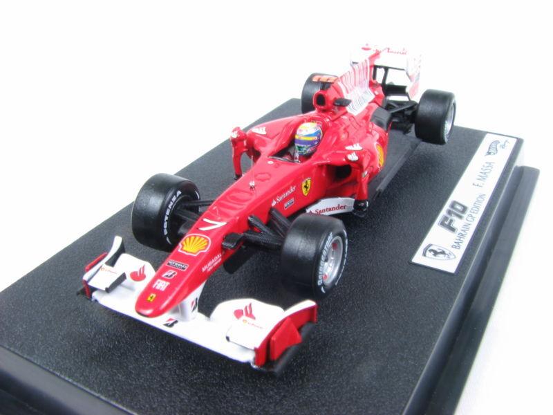 Hot Wheels 2010 Ferrari F10 Felipe Massa  43 F1