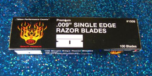 9-1 Box 100 Ea High Teck 1009 Razor Blades No