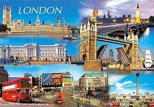 BR83383 london double decker bus panasonic coca cola mc donalds   uk