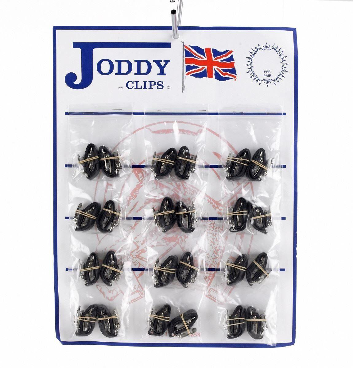 Hy Jodhpur Clips Pack de 12 euro Gancho Para Caballo jinetes en Negro o Marrón