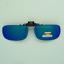 Clip-on-flip-up-sunglasses-color-mirror-gray-polarized-fish-drive-frame-unisex thumbnail 3