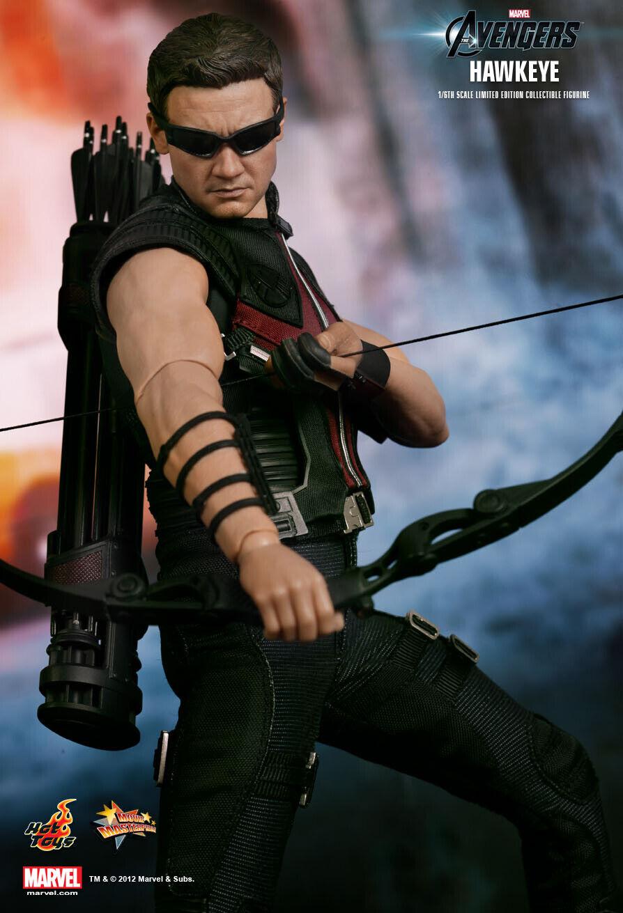 (ES) Hot Juguetes 1 6 Marvel Avengers MMS172 Hawkeye 12  Acción Figura