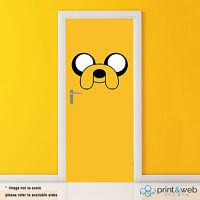 Adventure Time Vinyl Door Wrap Decal Sticker Self Adhesive Jake Art Bedroom Kids