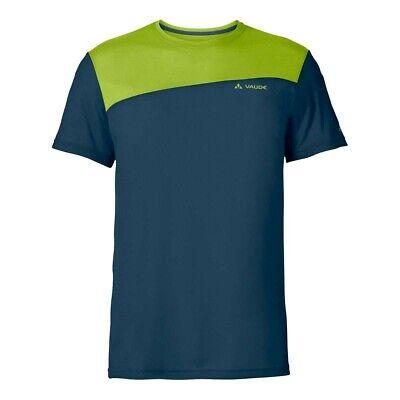 Bello Vaude Sveit Shirt Wool Funzione Shirt Verde-mostra Il Titolo Originale Alleviare Il Caldo E Il Colpo Di Sole