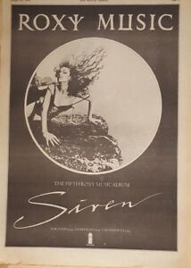 Roxy-Music-Siren-1975-press-advert-Full-page-28-x-39-cm-poster