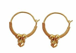 Image Is Loading Latest Solid Yellow Fine Gold 22k Round Design