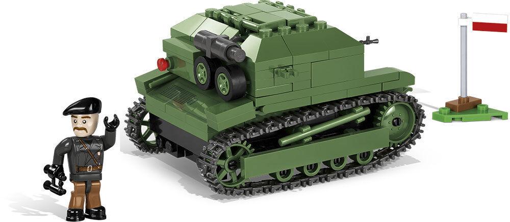 Construction Toy Small Army Tank TK-3 Tankette - Polish Reconnaissance
