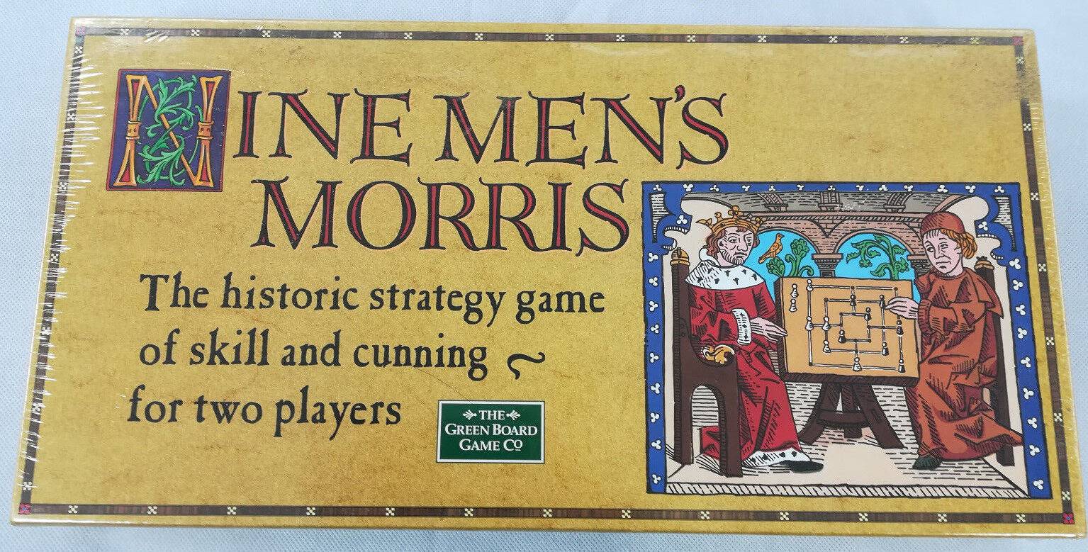 Nine Mens Morris Legendary Board Game